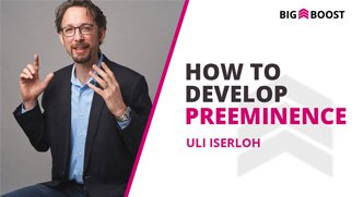 How To Develop Preeminence In Your Community