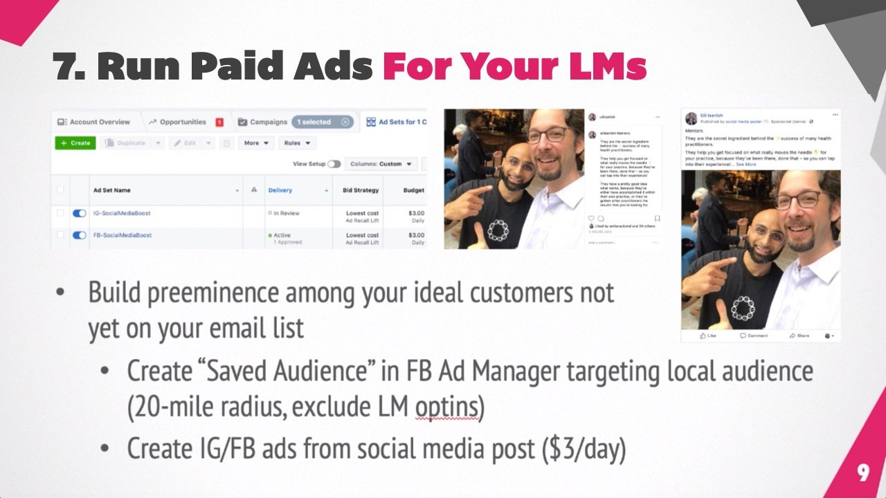 Run Paid Ads For Your Lead Magnets