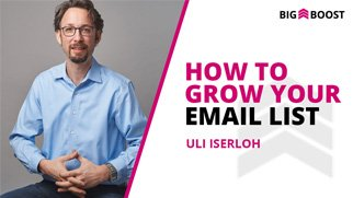 How To Build An Email List (From Scratch)