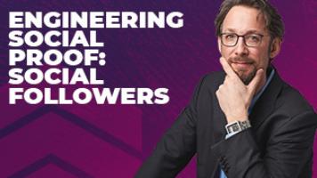 Engineering Social Proof: Social Followers